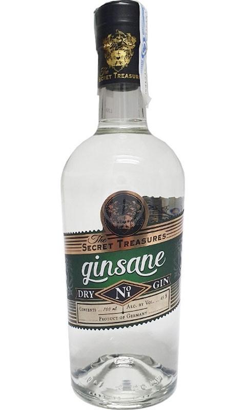 The Secret Treasures Ginsane Dry Gin