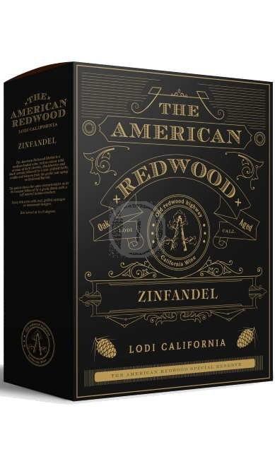 The American Redwood Zinfande 3l