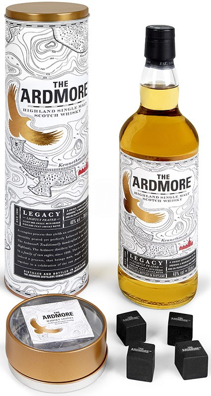 Ardmore Single Malt + Whiskystenar