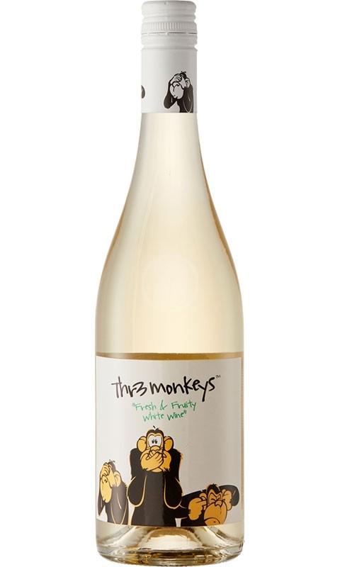 THR Monkeys Fruity White Wine
