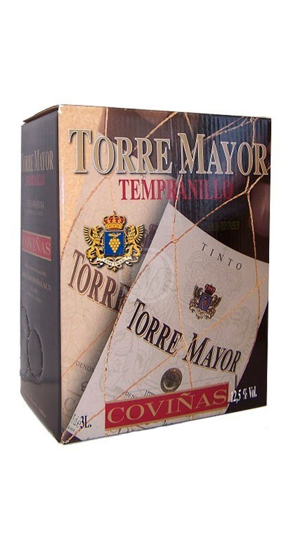Torre Mayor Tempranillo 3 liter