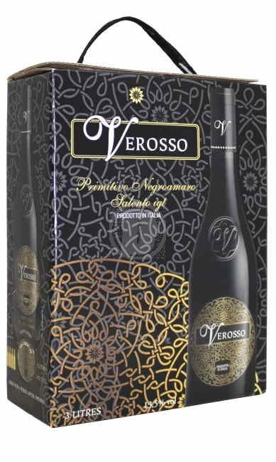 Verosso Salento Primitivo 3 liter