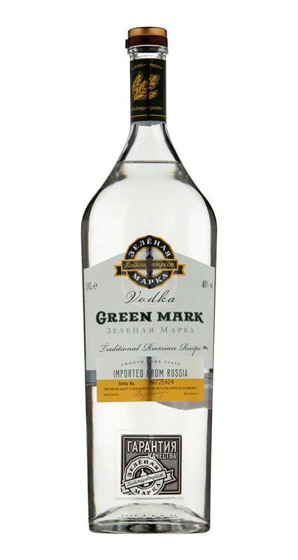Vodka Green Mark Traditional