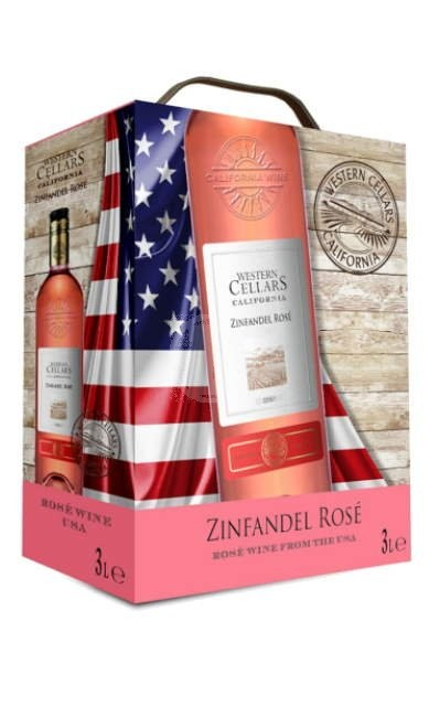 Western Cellars Zinfandel Rose 3l