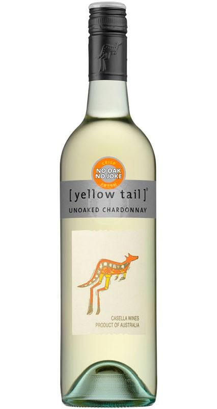 Yellow tail unoaked Chardonnay