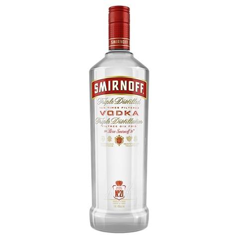 Smirnoff No. 21 Vodka 1 liter
