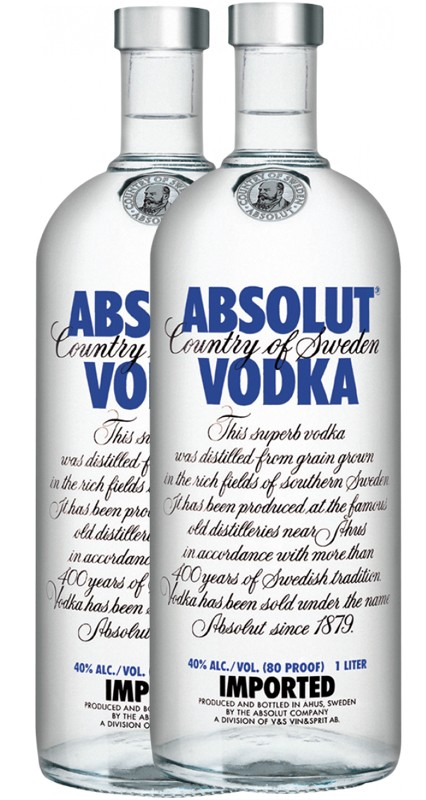 Absolut Vodka 2-Pack