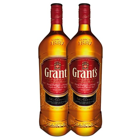Grants Whisky 2 - Pack