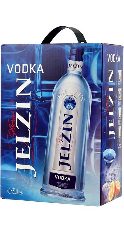 Jelzin vodka BIB