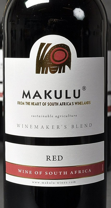 Makulu Cape red Etikett