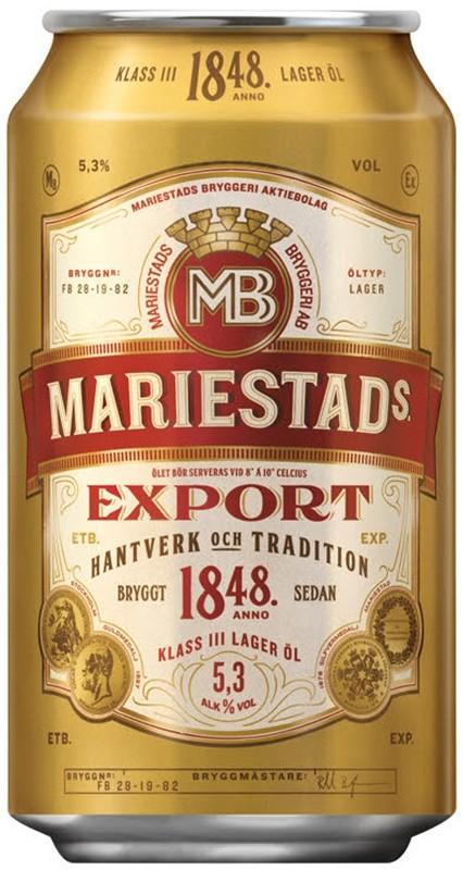Mariestad export