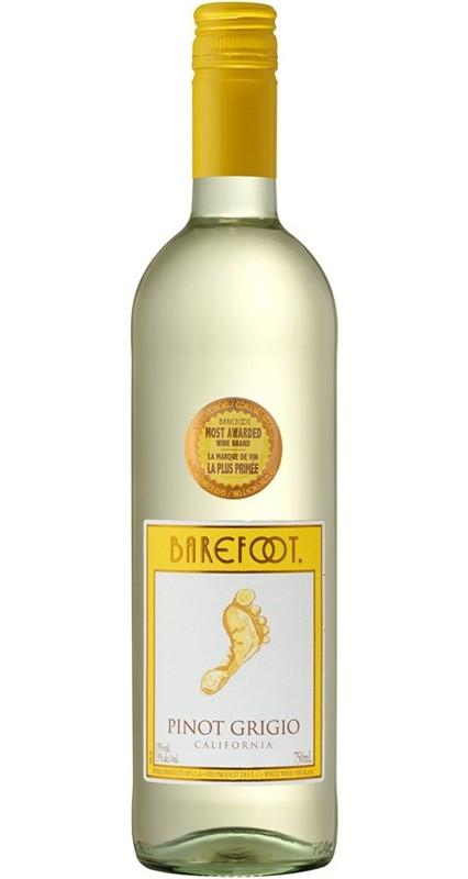 Barefoot Pinot Grigio 12% 0,75 ltr