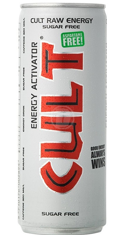Cult Energy suger free