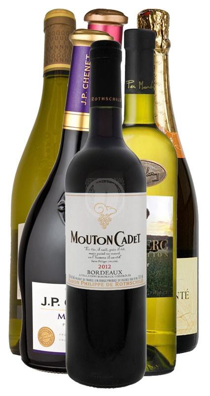 Franskt vinpaket