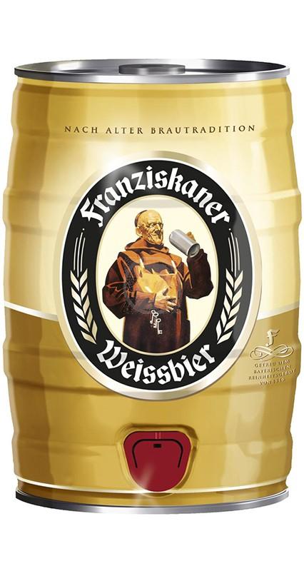 Franziskaner Weissbier 5 liter