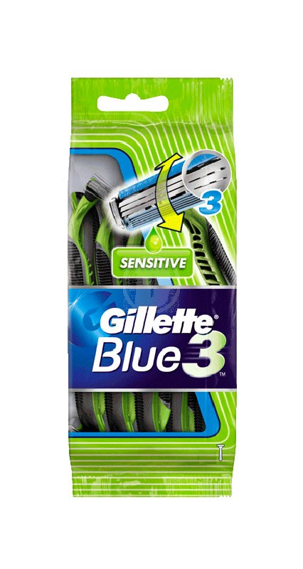 Gillette Blue3 Sens. 4 Pack