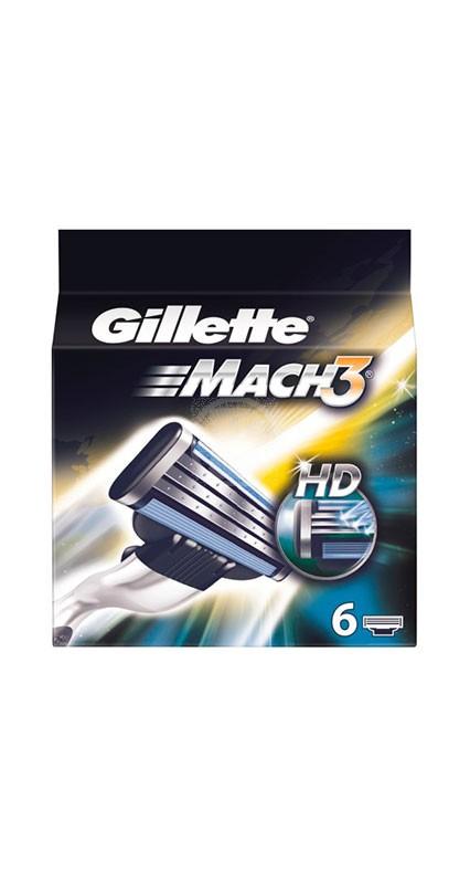 Gillette Mach 3 rakblad 6st