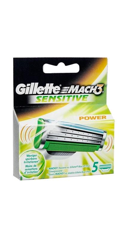 Gillette Mach3 Sen. 5st Blad