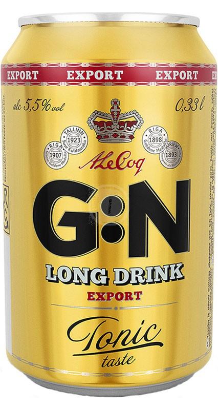 G:N Longdrink Export Tonic Taste