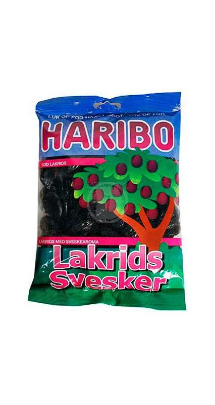 Haribo Lakrids Svesker