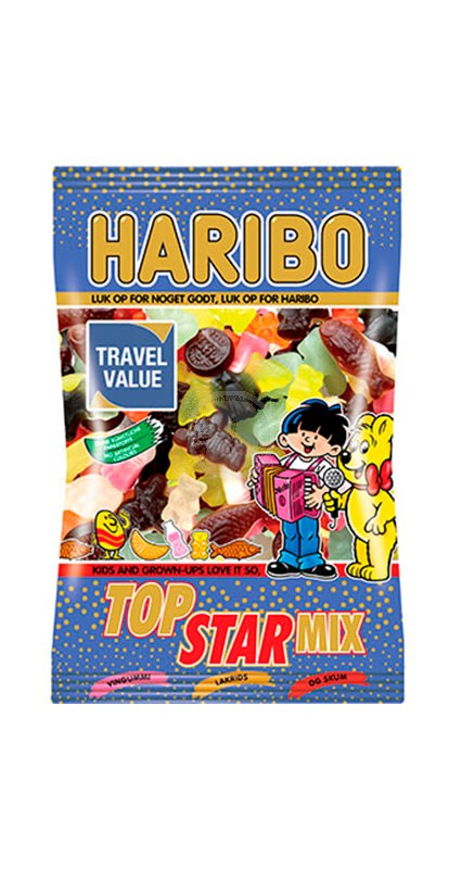 Haribo Top Star Mix