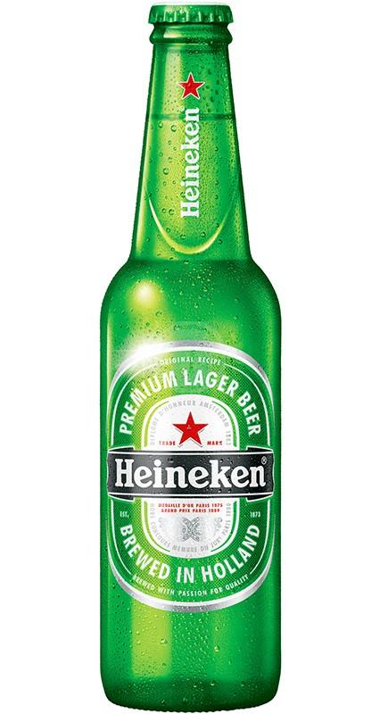 Heineken flaska