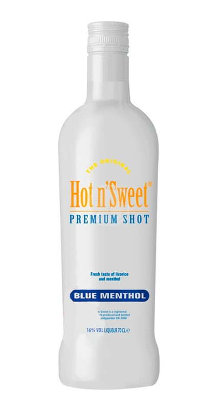 Hot n Sweet Shot Blue Menthol