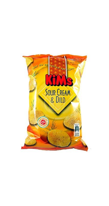 Kims Chips Sour Cream & Dild