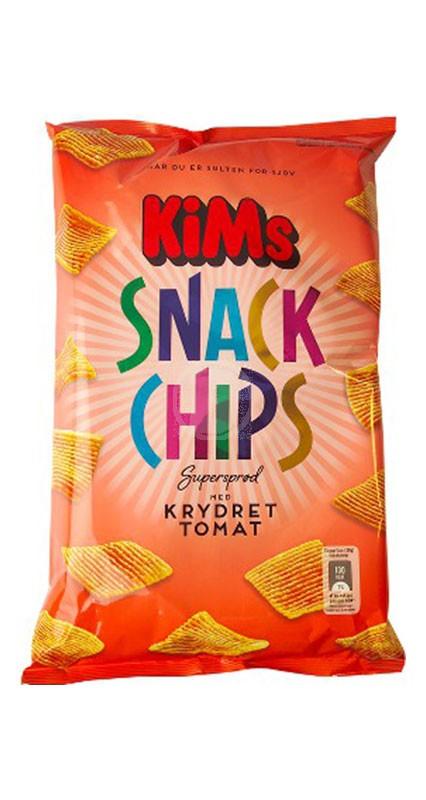 Kims Snack Chips Krydet Tomat