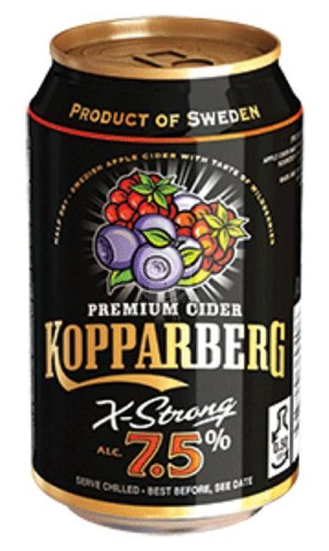 Kopparberg Skogsbär Strong