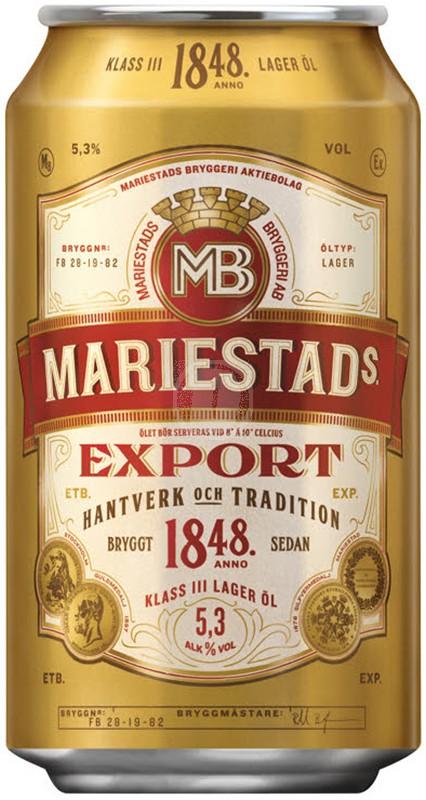 Mariestads Export 33 cl