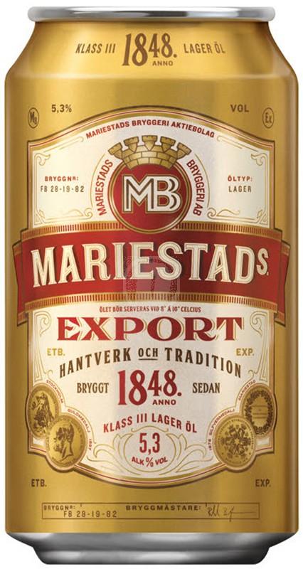 Mariestads Export Burk