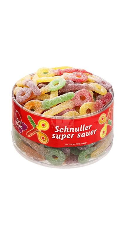 Red Band Schnuller super sauer