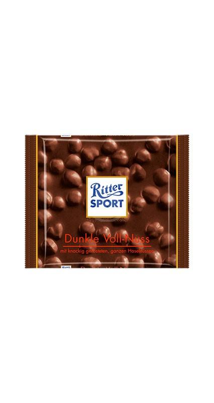 Ritter Sport Dunkel Voll-Nus