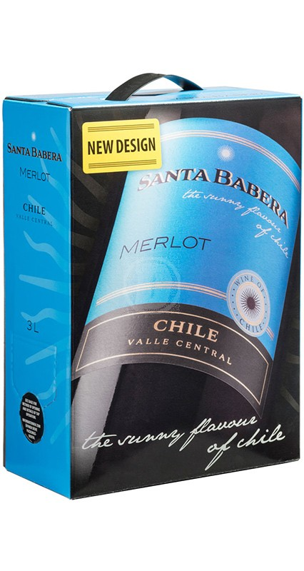 Santa Babera Merlot 3 liter