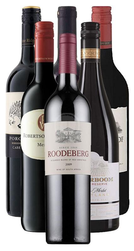 Sydafrikanskt vinpaket