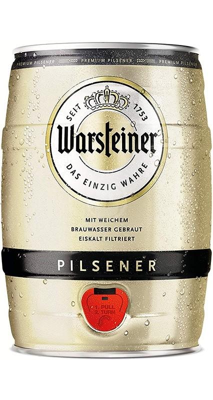 Warsteiner Premium 5 liter