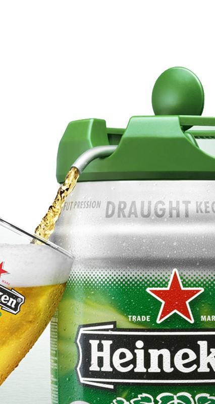 Heineken ölfat
