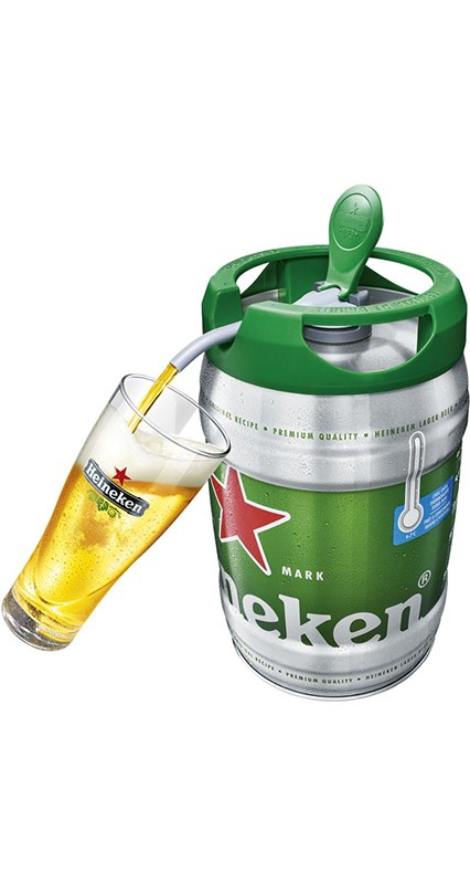 Heineken ölfat tapp