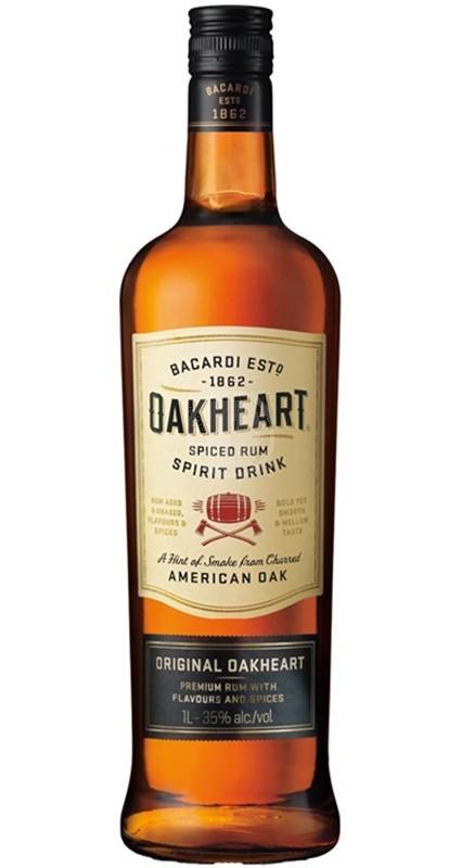 Bacardi Oakheart New