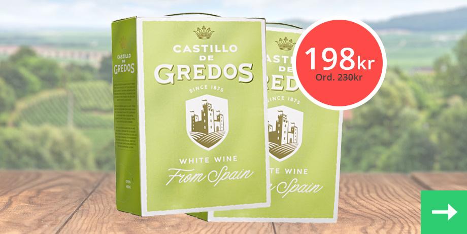 Kampanj på Castillo De Gredos Blanco