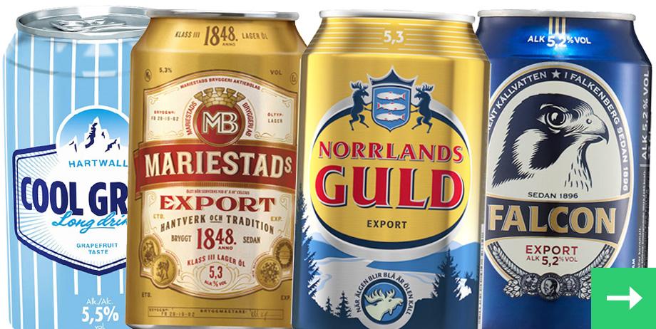 Öl och Cider