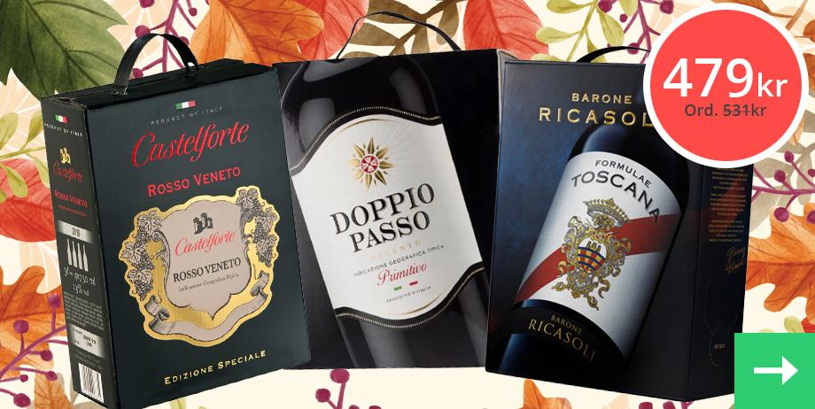 Kampanj på vinpaket