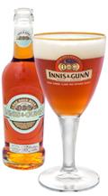 Innis & gunn flaska och glas