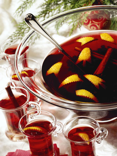 Halloweenbål - Bloody Rum Punsch