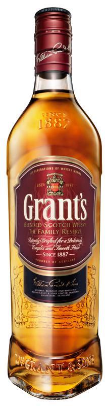 Grants whisky flaska