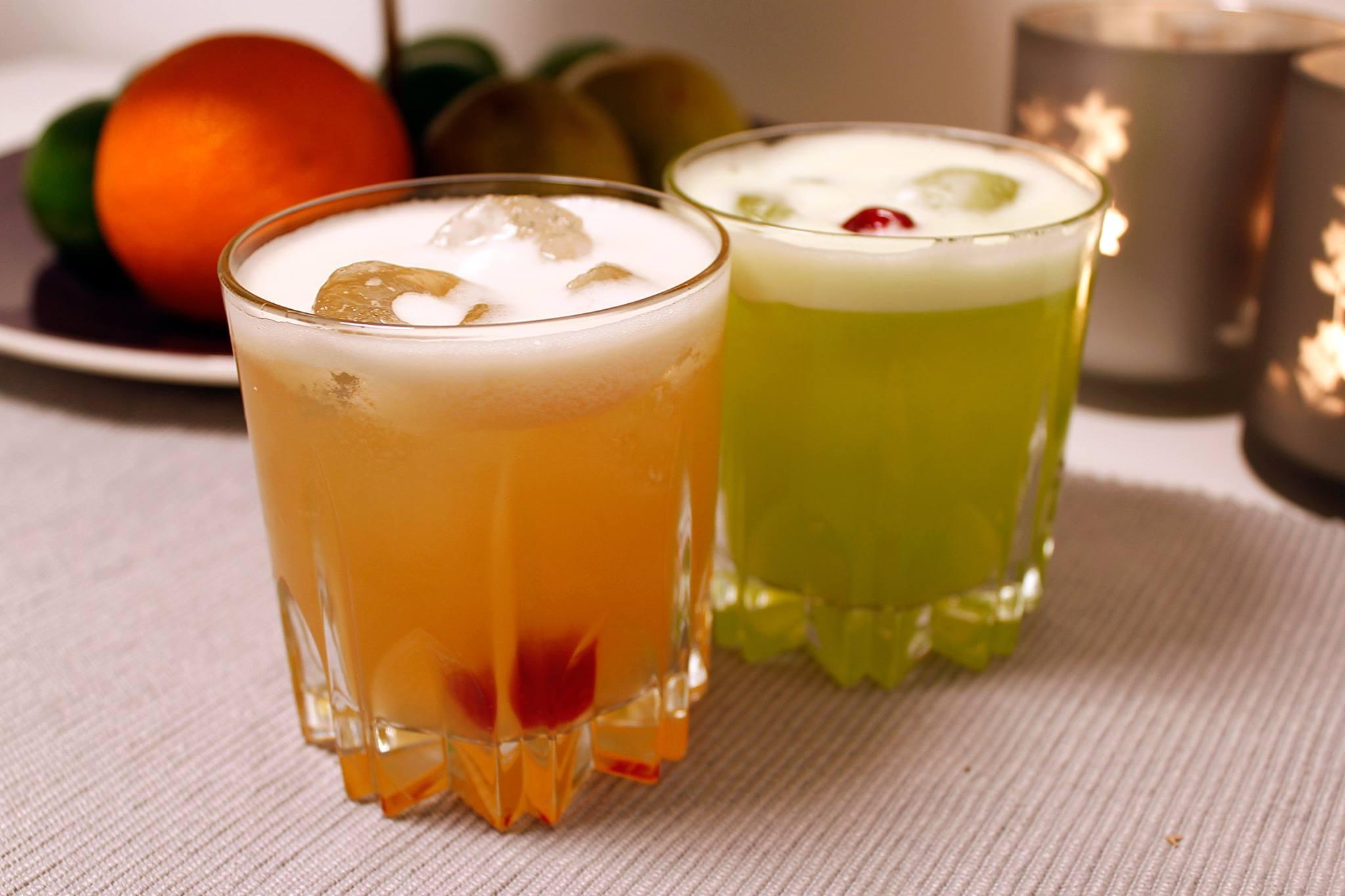 Testa två grymma variationer av Whisky Sour