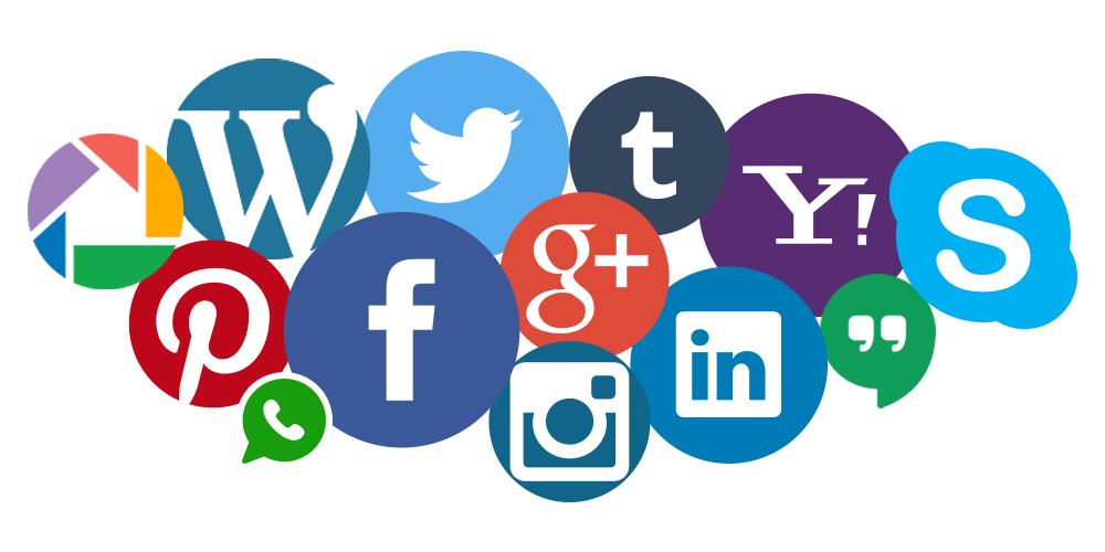 Hitta oss på sociala medier
